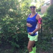 5 months pregnant, Post-Half-Marathon