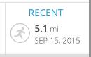My run this morning...
